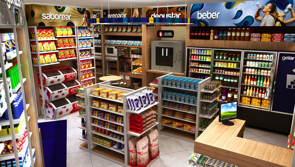 Beautiful Interior Design Ideas Convenience Store Images ...